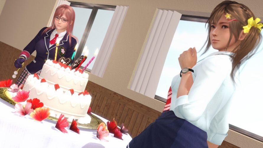 「親友の誕生日に、教室に馬鹿でかいケーキを持ち込んでくる」という女子高生の日常。